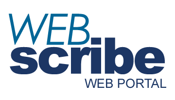WebScribe Transcription Web Portal